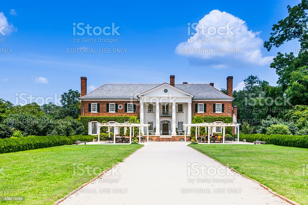 Boone Hall Plantation and Gardens stock photo