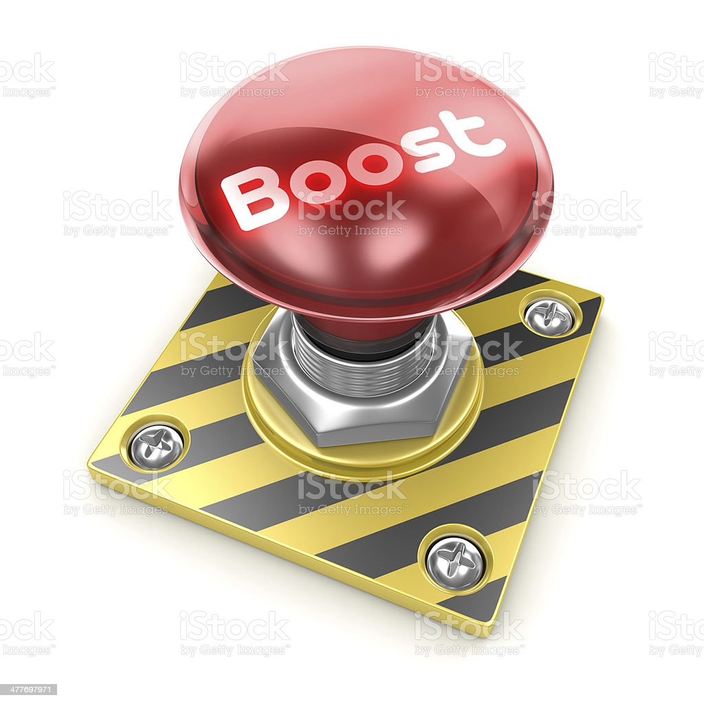 Boost royalty-free stock photo