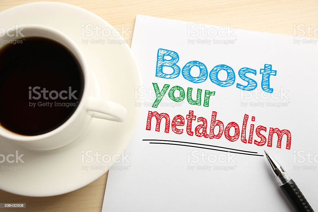 Boost Your Metabolism stock photo