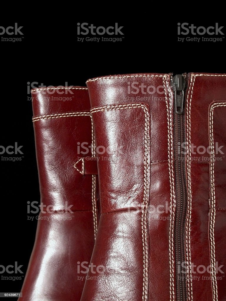 Boot Detail royalty-free stock photo