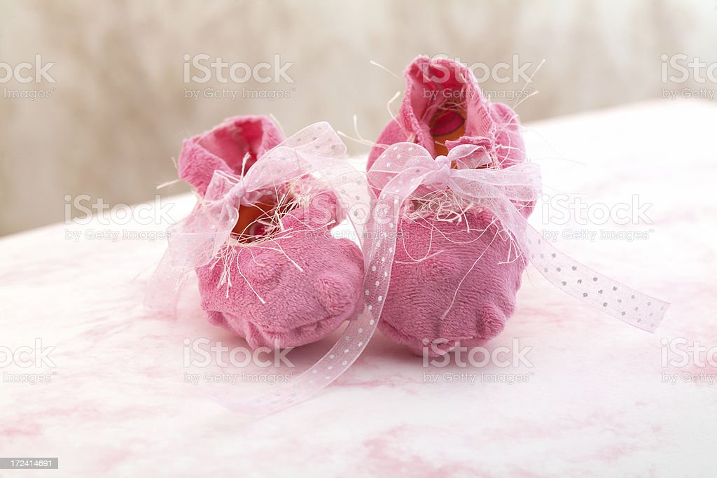 Booteis rosa foto stock royalty-free