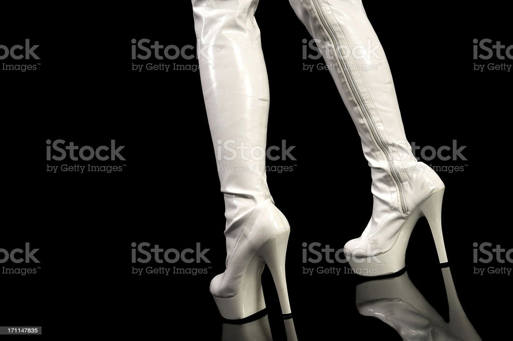 Boots made for walking. stock photo