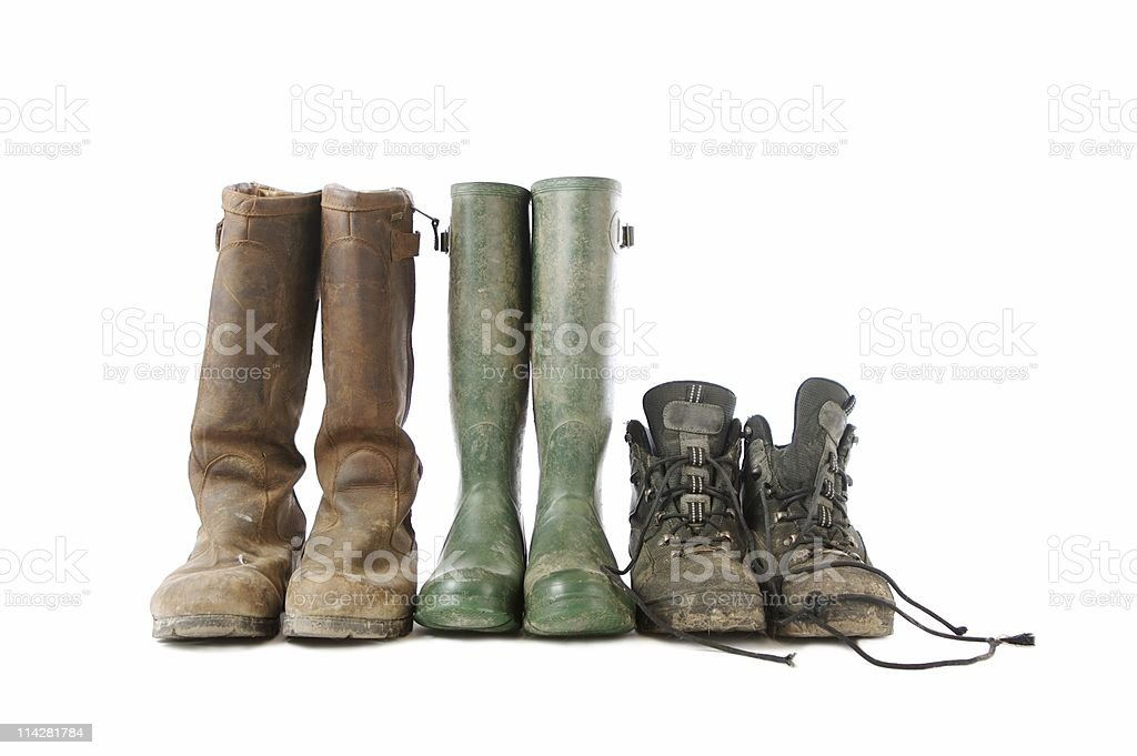 Boots... royalty-free stock photo