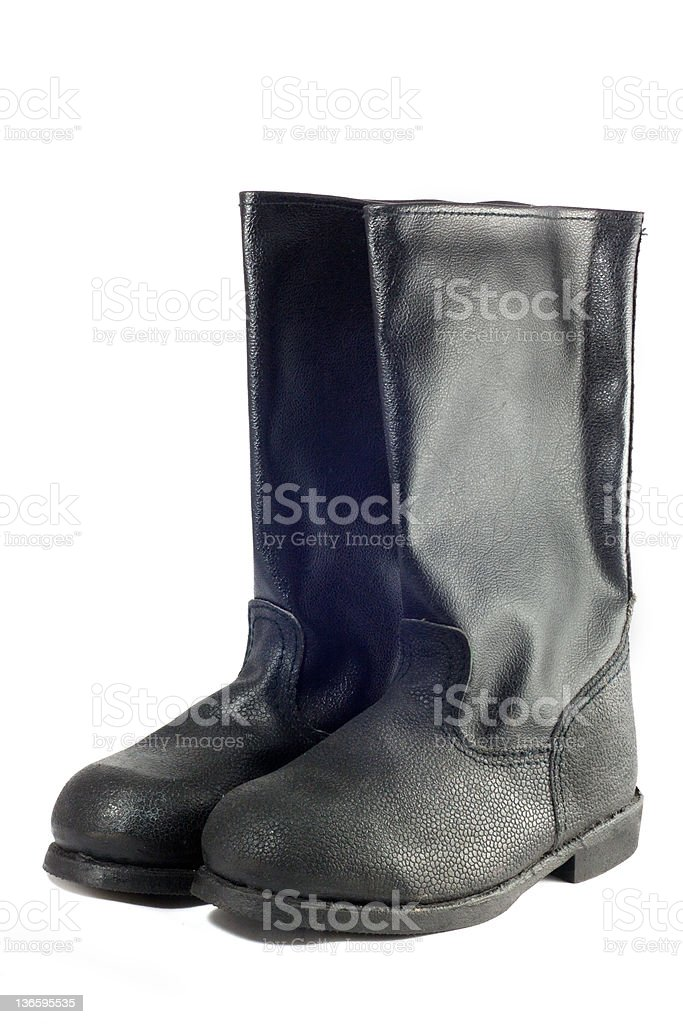 Boots royalty-free stock photo