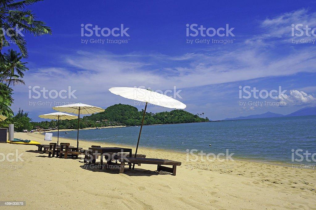 Bophut Beach stock photo
