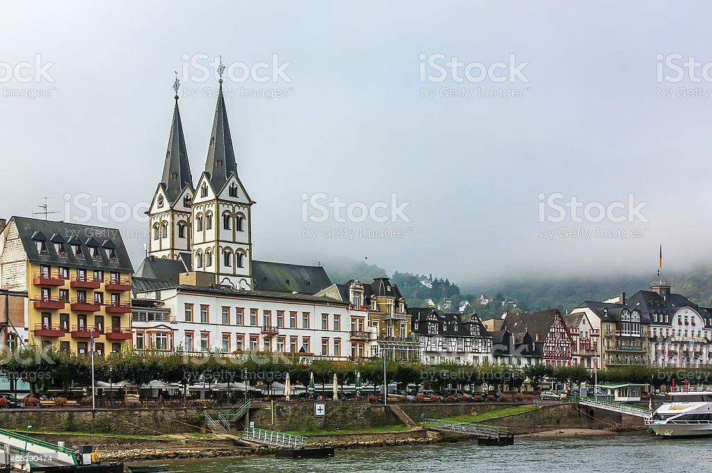 Boppard, Germany stock photo