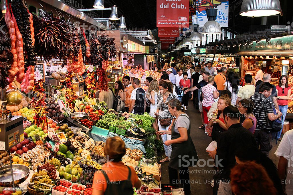 Boqueria, Barcelona stock photo