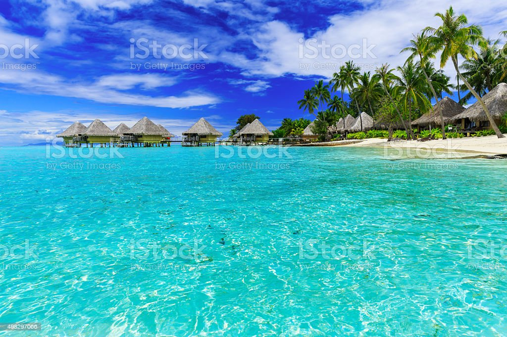 Bora Bora, French Polynesia stock photo