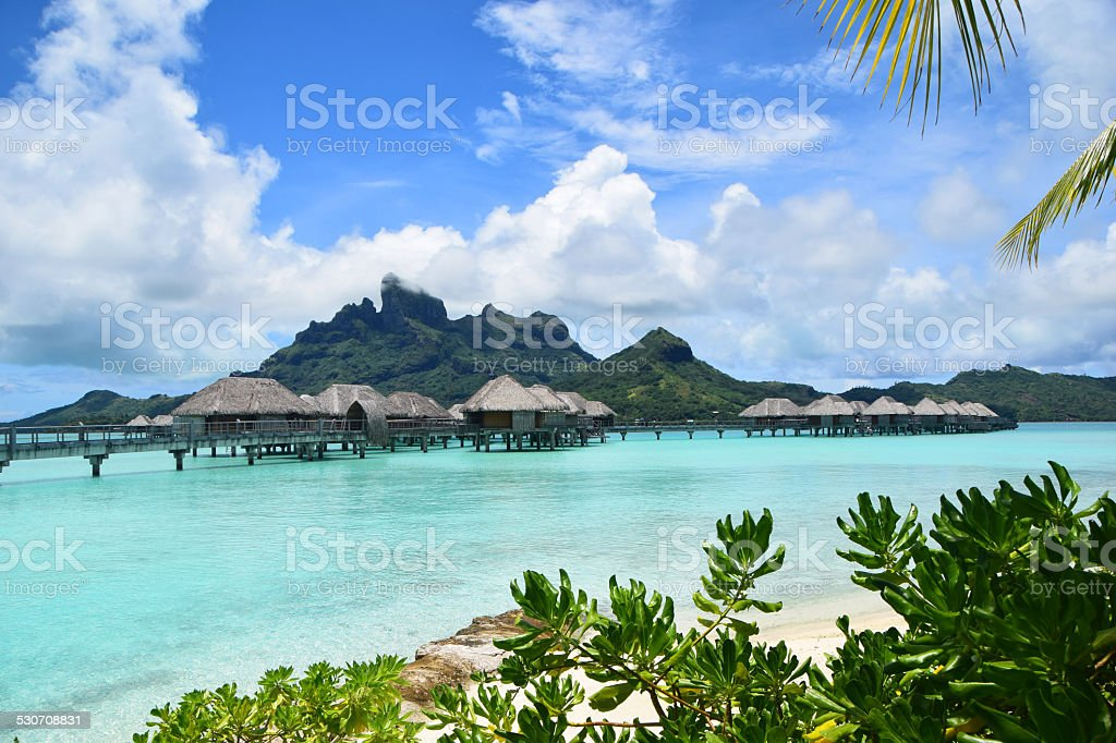 Bora Bora, French Polynesia stock photo