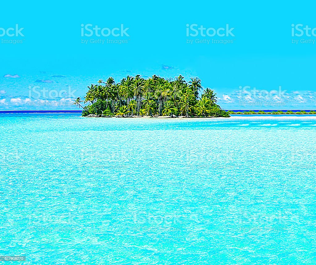 Bora Bora Tahiti Escape stock photo