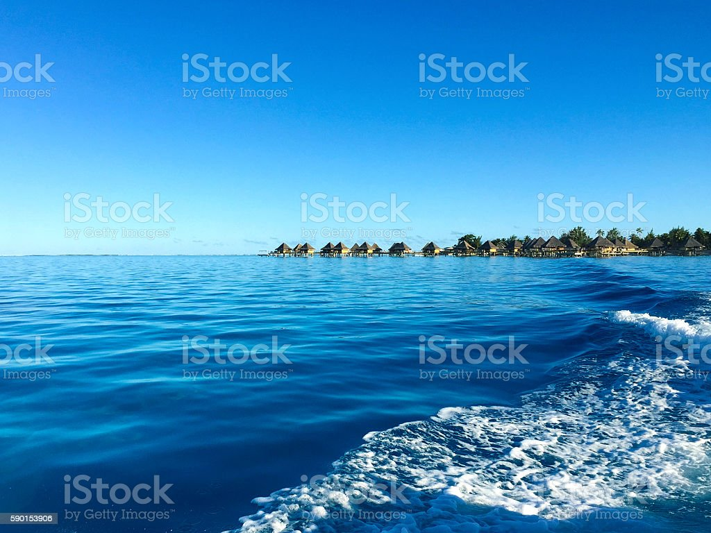 Bora Bora Tahiti stock photo