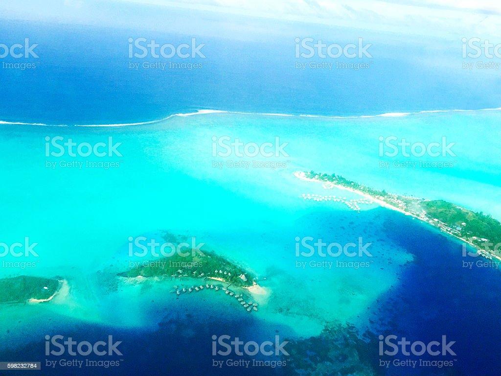 Bora Bora Tahiti stock photo