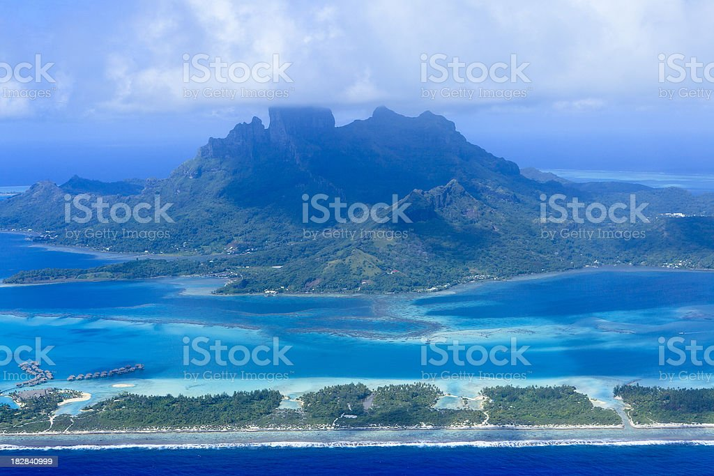 Bora - Tahiti royalty-free stock photo