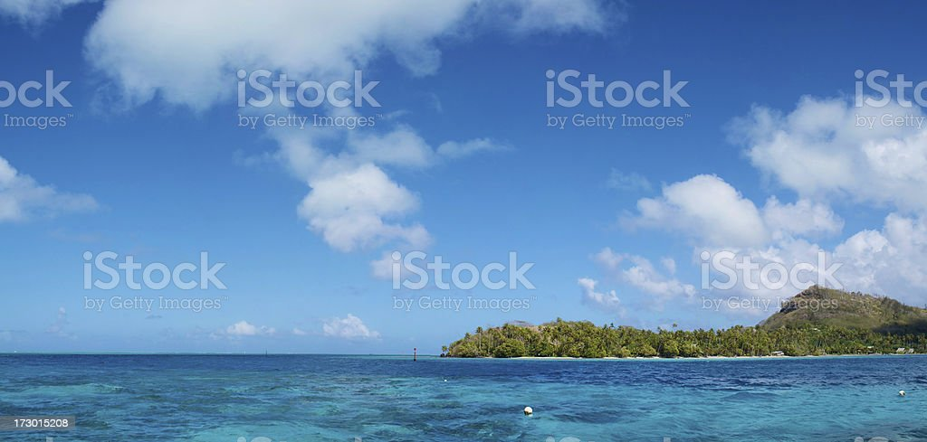 BoraBora (XXL) royalty-free stock photo