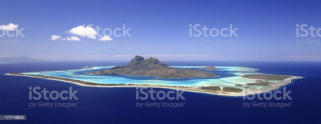 Bora-Bora stock photo