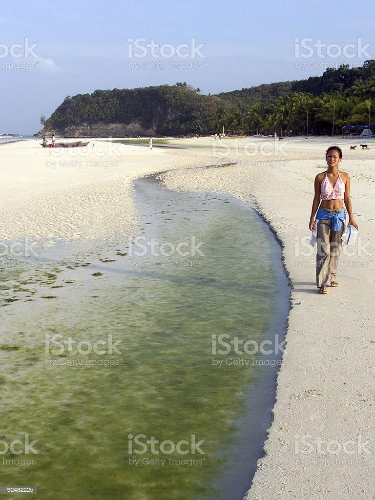 Boracay beach 4 royalty-free stock photo