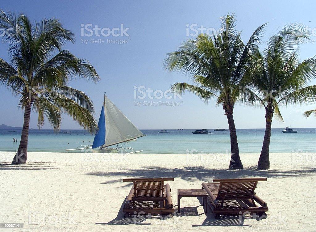 Boracay beach 8 royalty-free stock photo