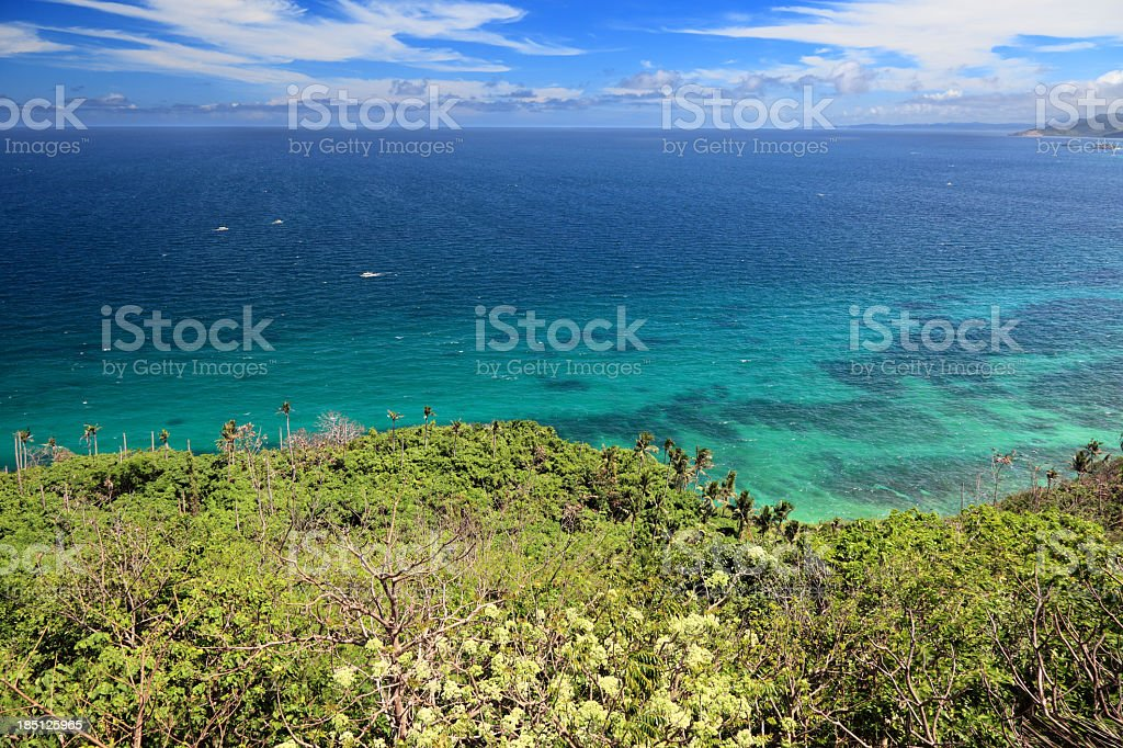 Boracay island panorama royalty-free stock photo