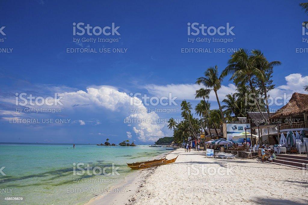 Boracay Island Philippines royalty-free stock photo