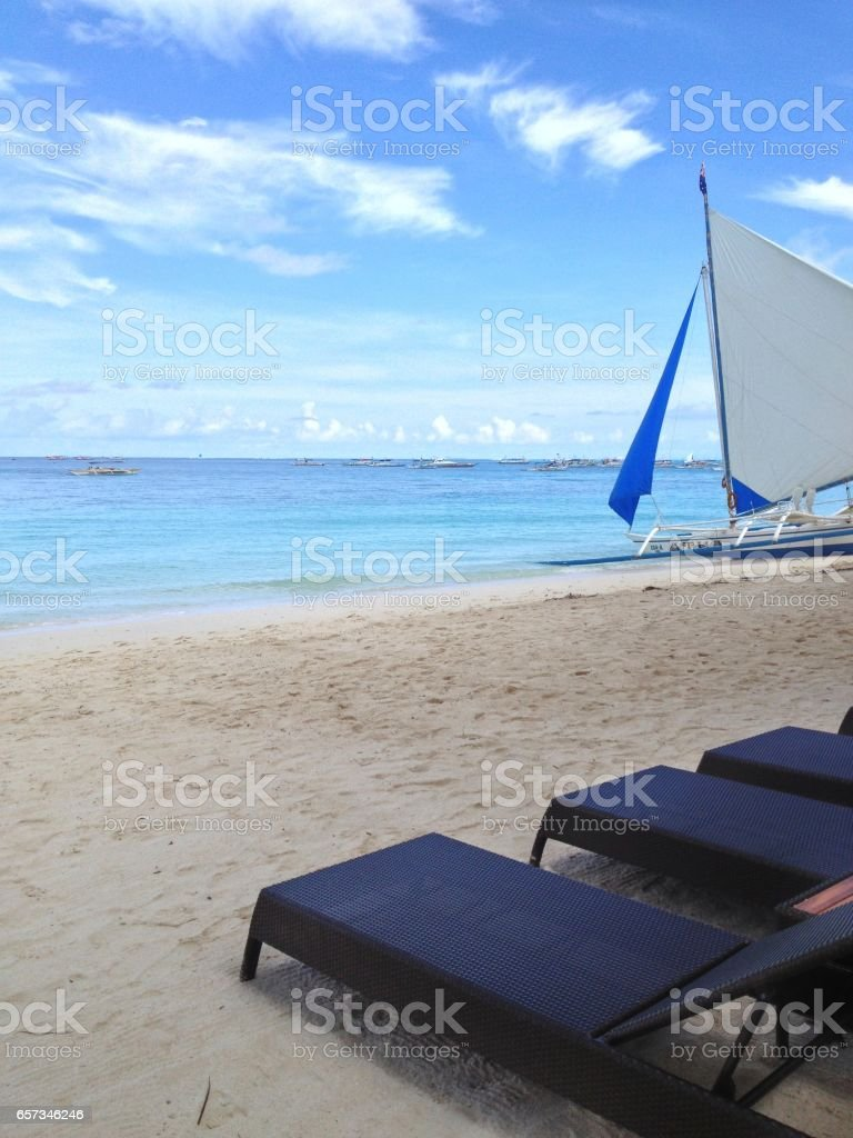 Boracay Shores stock photo