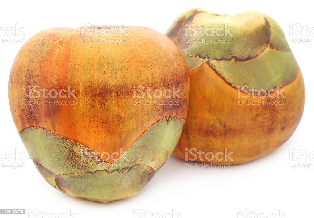 Borassus flabellifer or Tal fruit stock photo