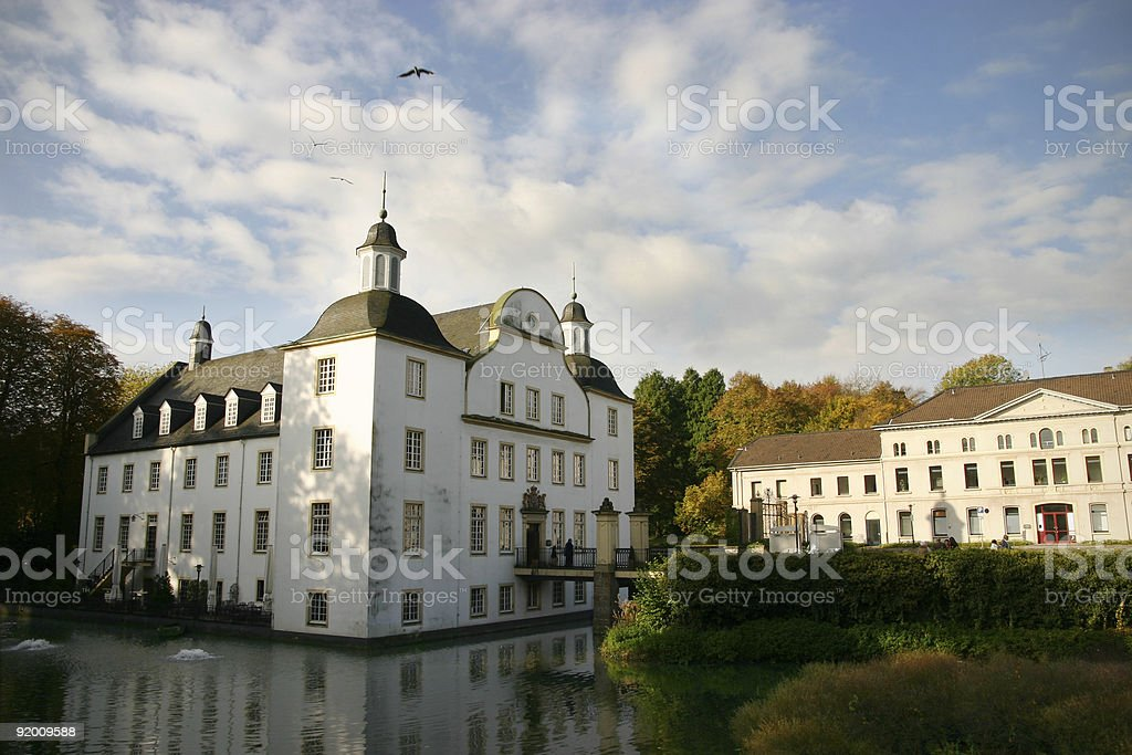 Schloss Borbeck in Essen stock photo