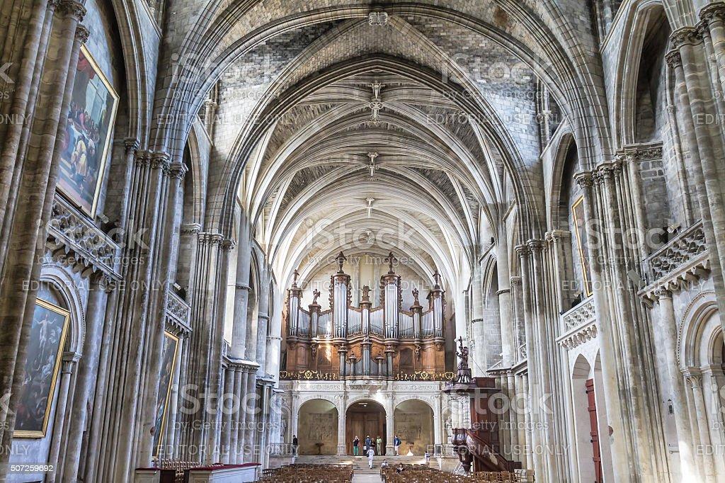 Bordeaux - Cathédrale Saint-André stock photo