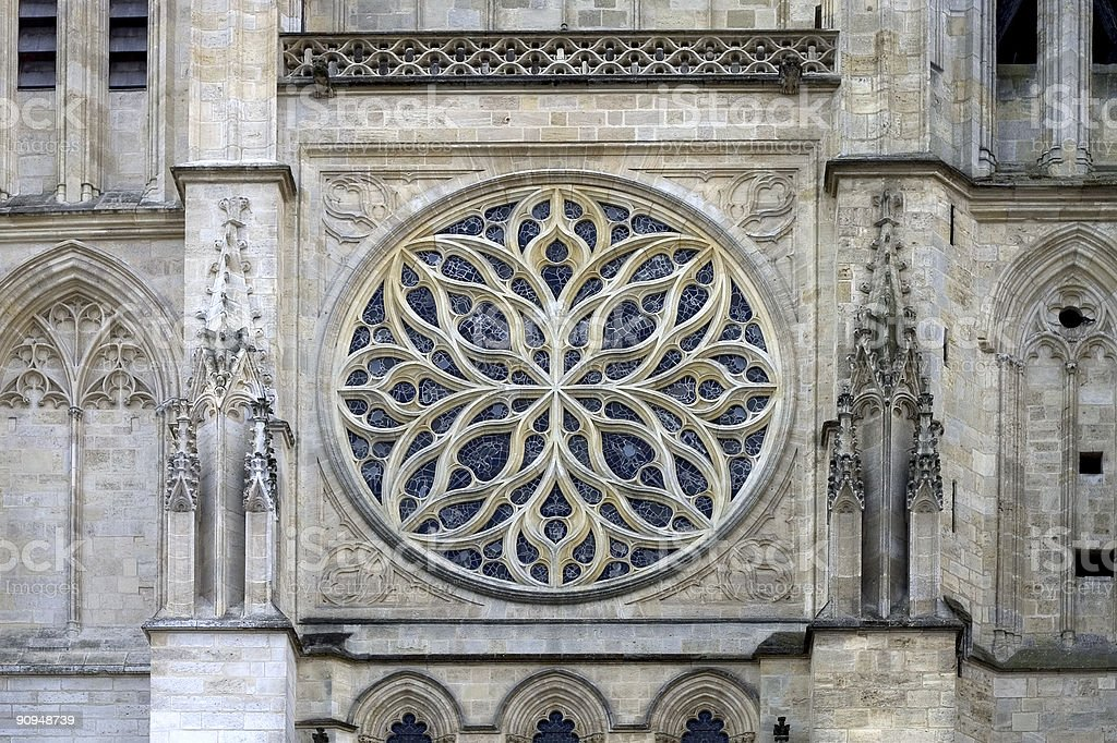 Bordeaux Cathedral, France royalty-free stock photo