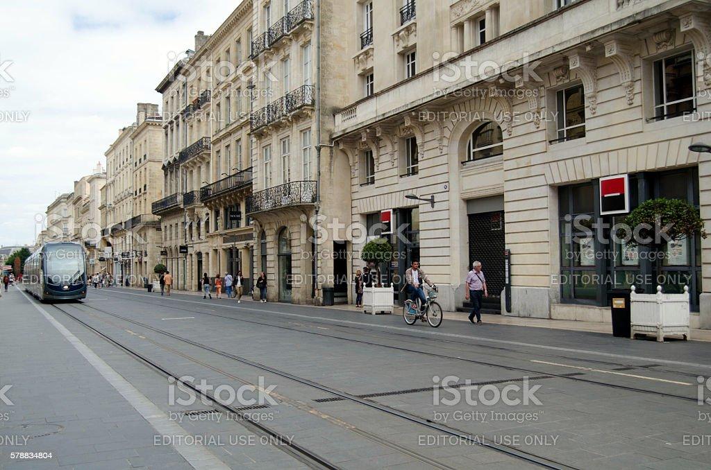 Bordeaux, France stock photo