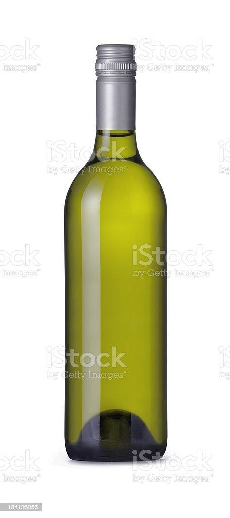 Bordeaux Shape Wine Bottle royalty-free stock photo