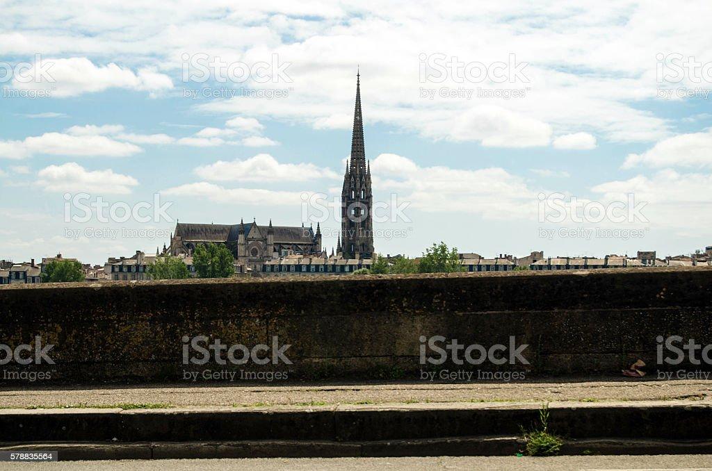 Bordeaux skyline stock photo