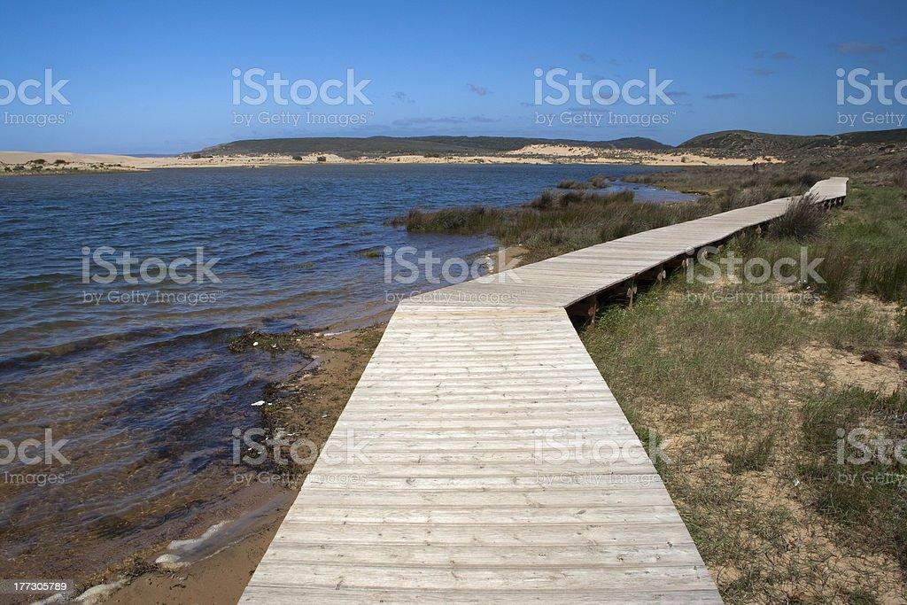 Bordeira Beach, Algarve, Portugal royalty-free stock photo