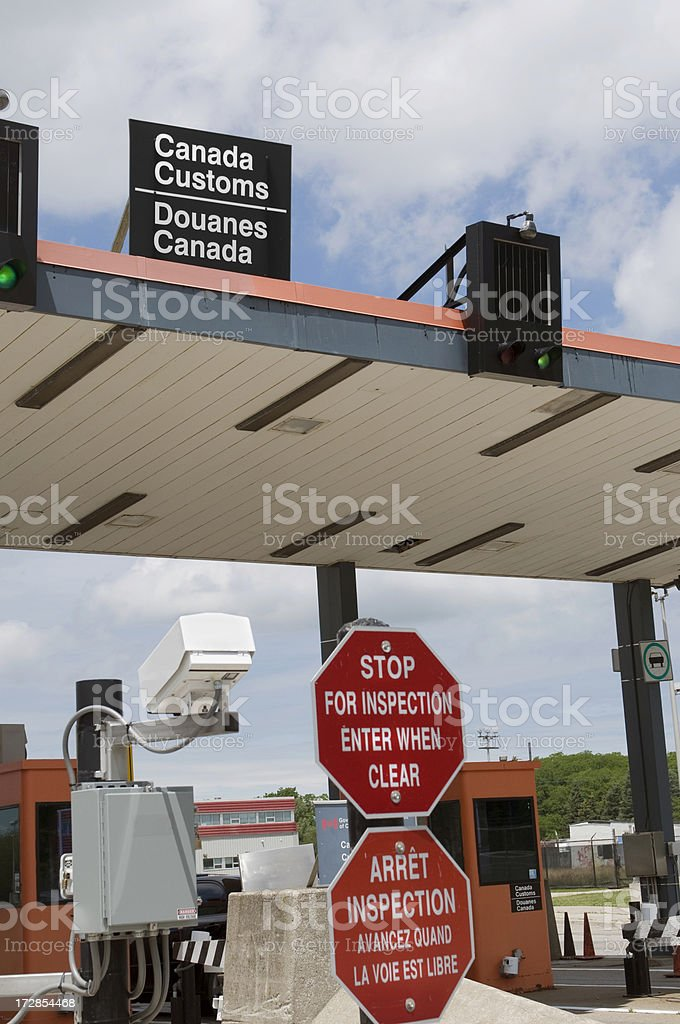 Border Checkpoint royalty-free stock photo