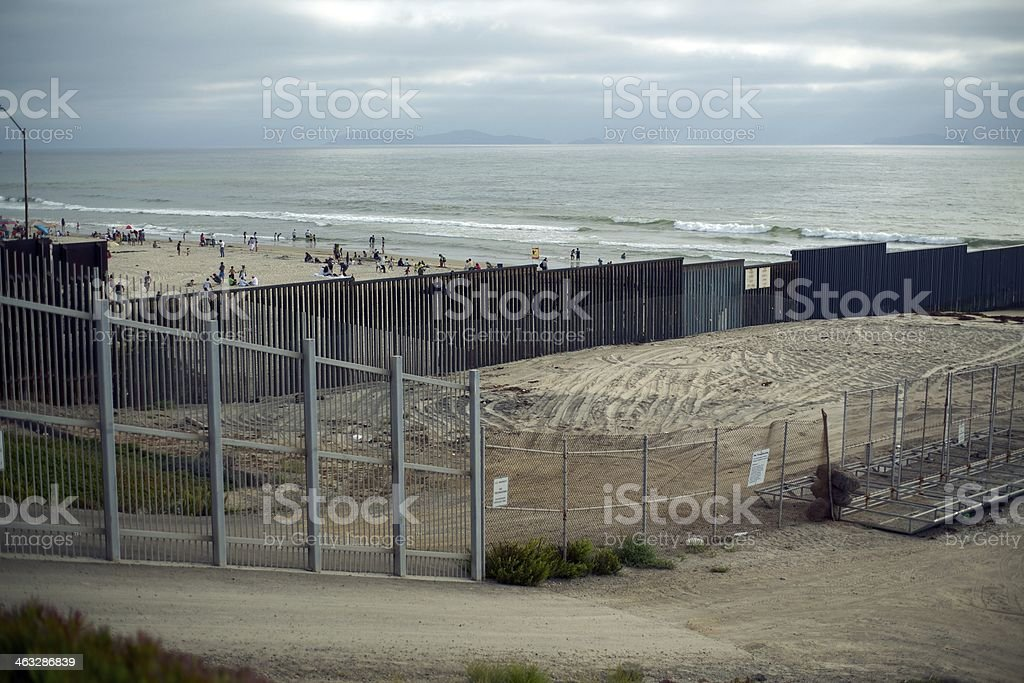 Border Mexico stock photo