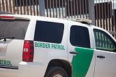 Border Partol at the US Mexico border in San Diego