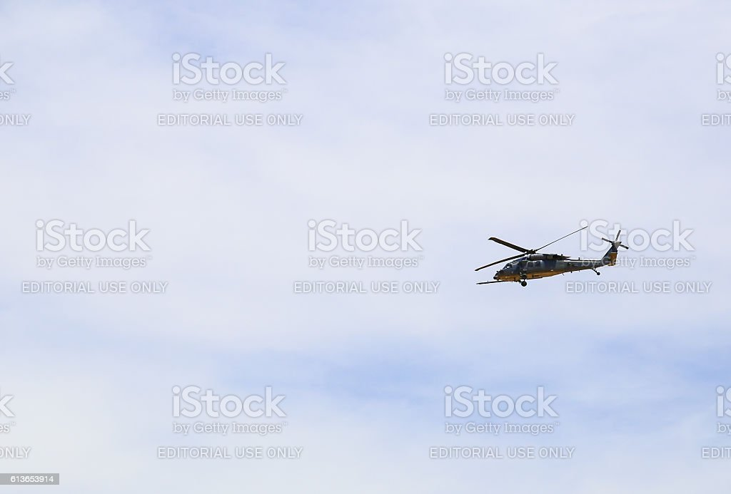 Border Patrol Helicopter stock photo