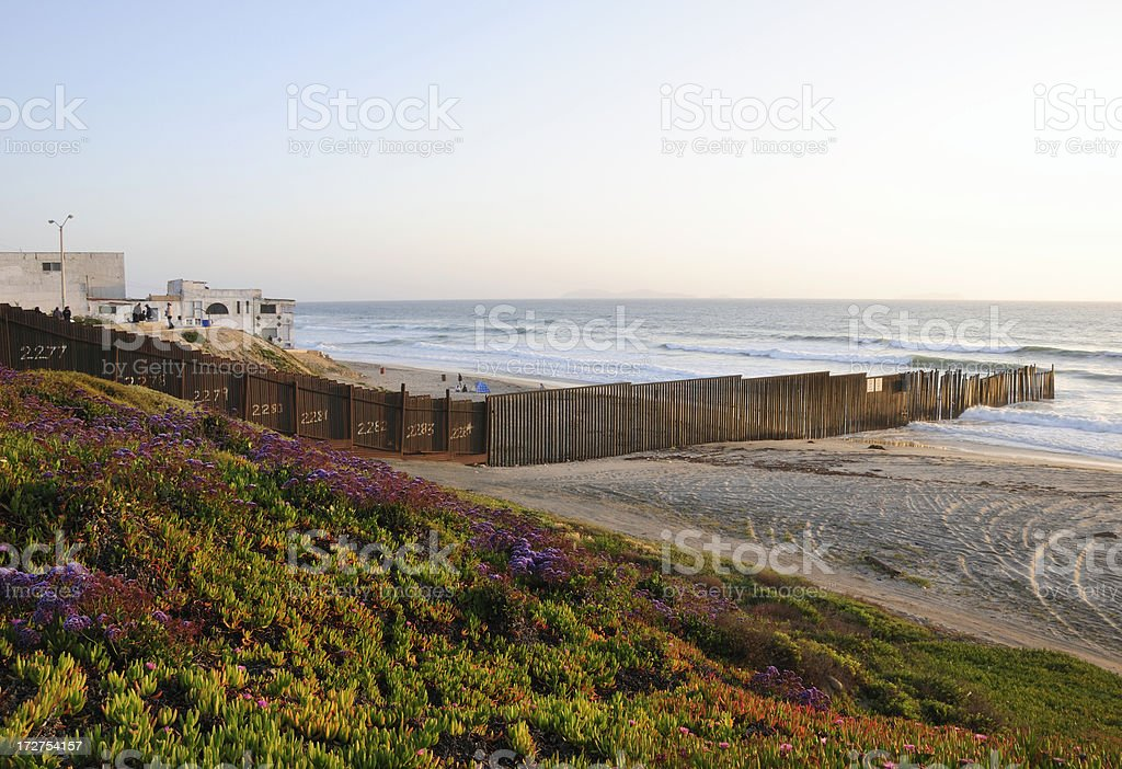 Border Scenic royalty-free stock photo