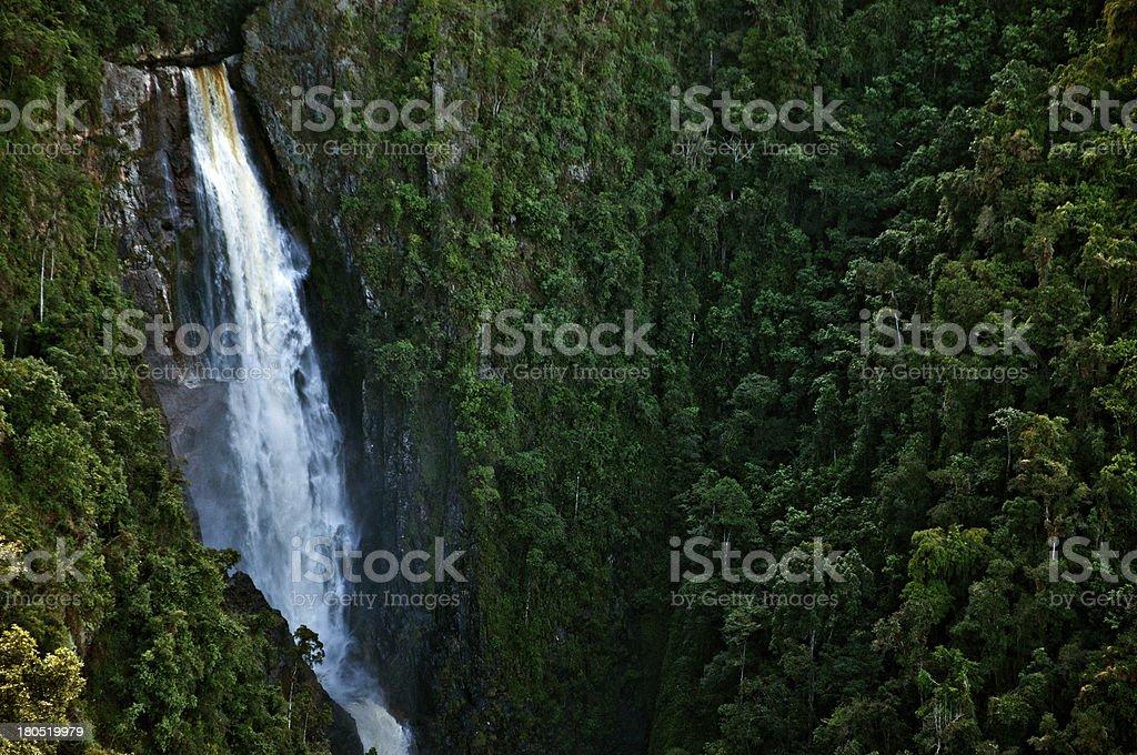 Bordones Waterfall stock photo