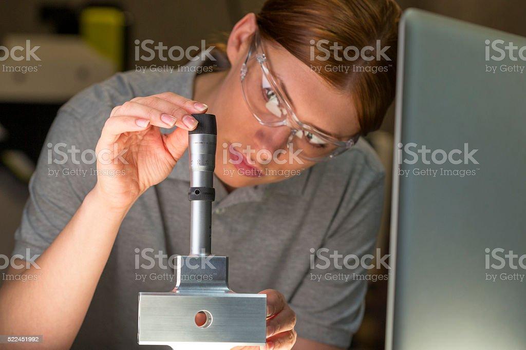 Bore Micrometer for Precision Measurement stock photo