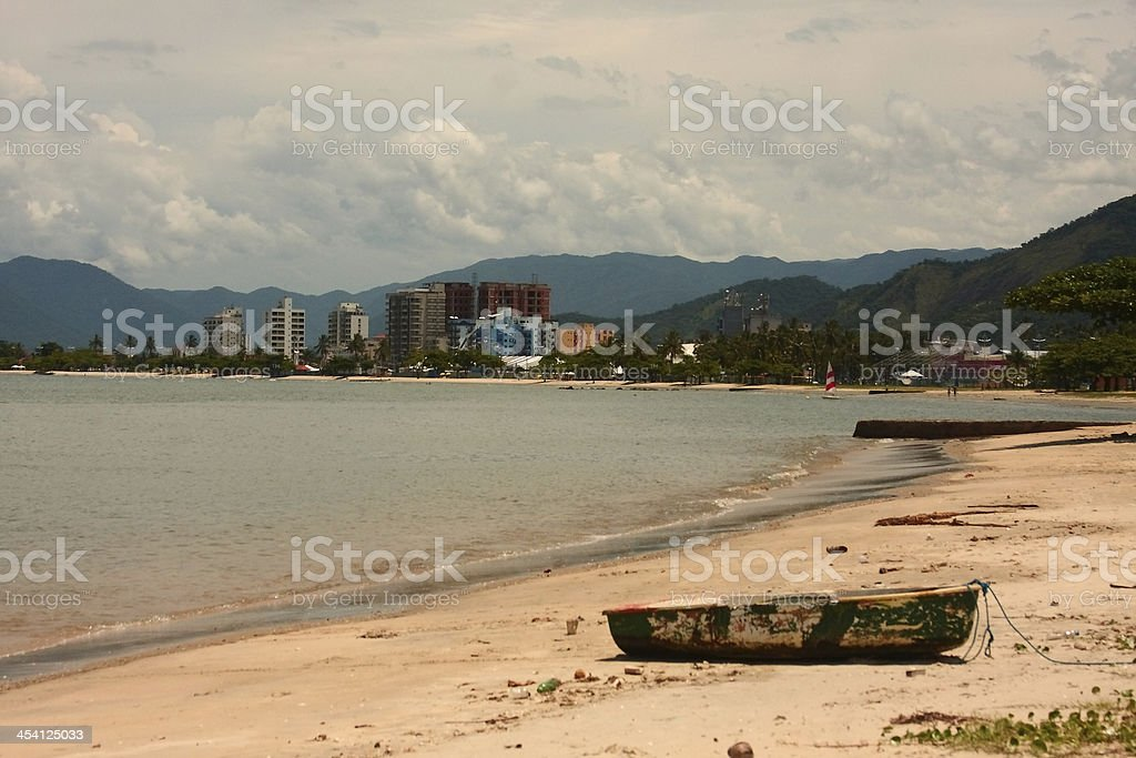 Barco Furado royalty-free stock photo