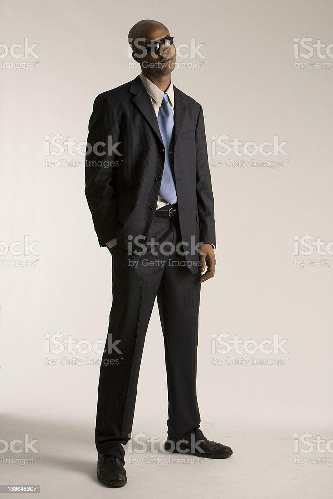 Bored man stock photo