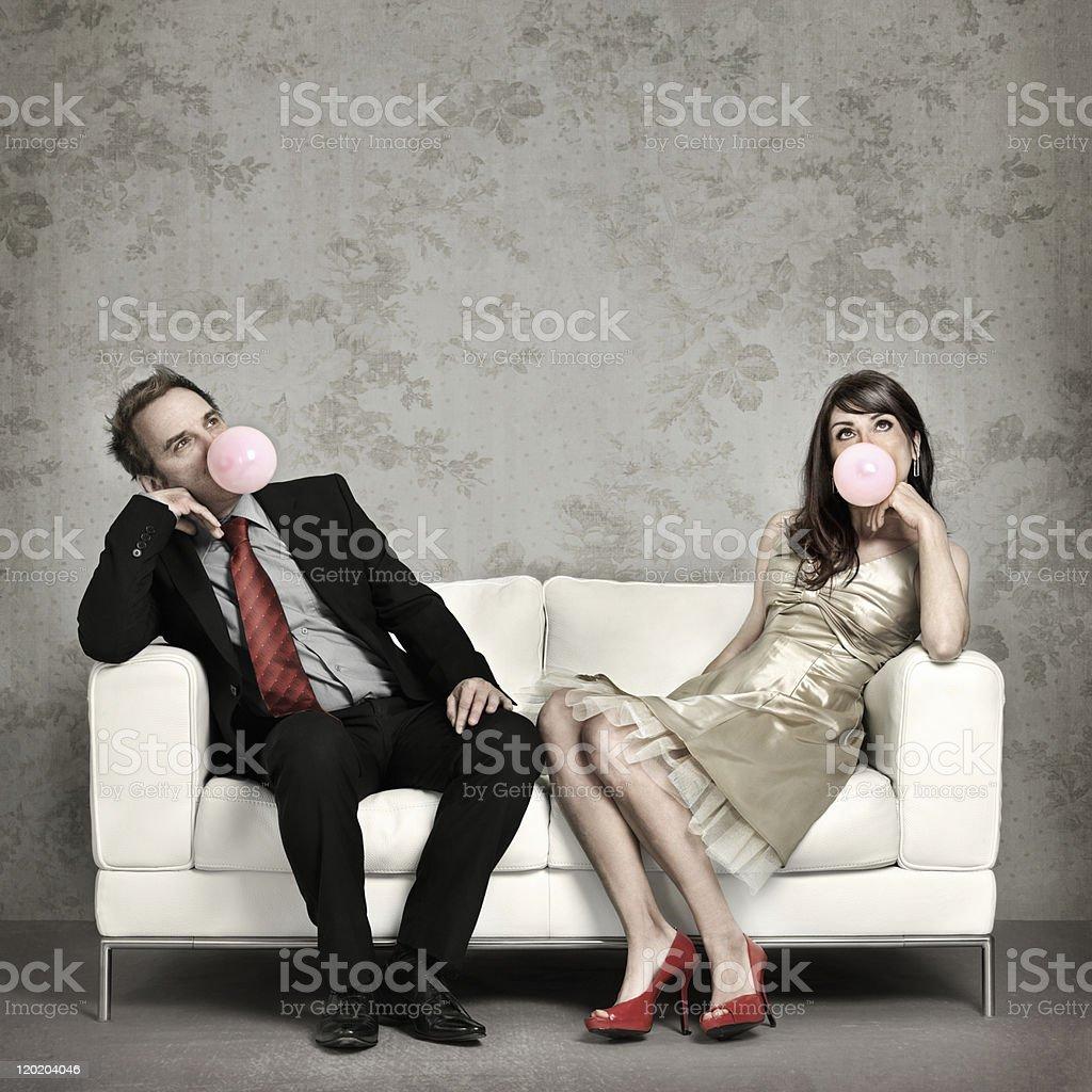 Bored royalty-free stock photo