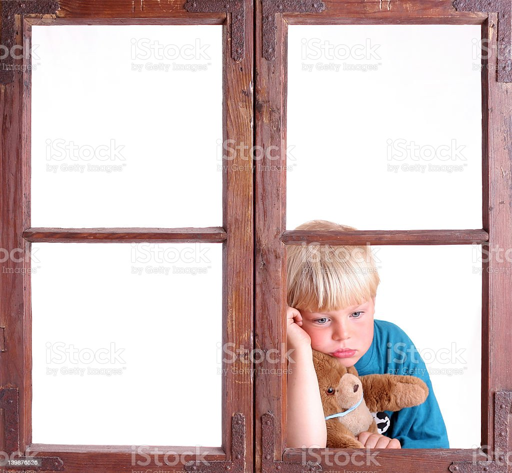 Bored! royalty-free stock photo