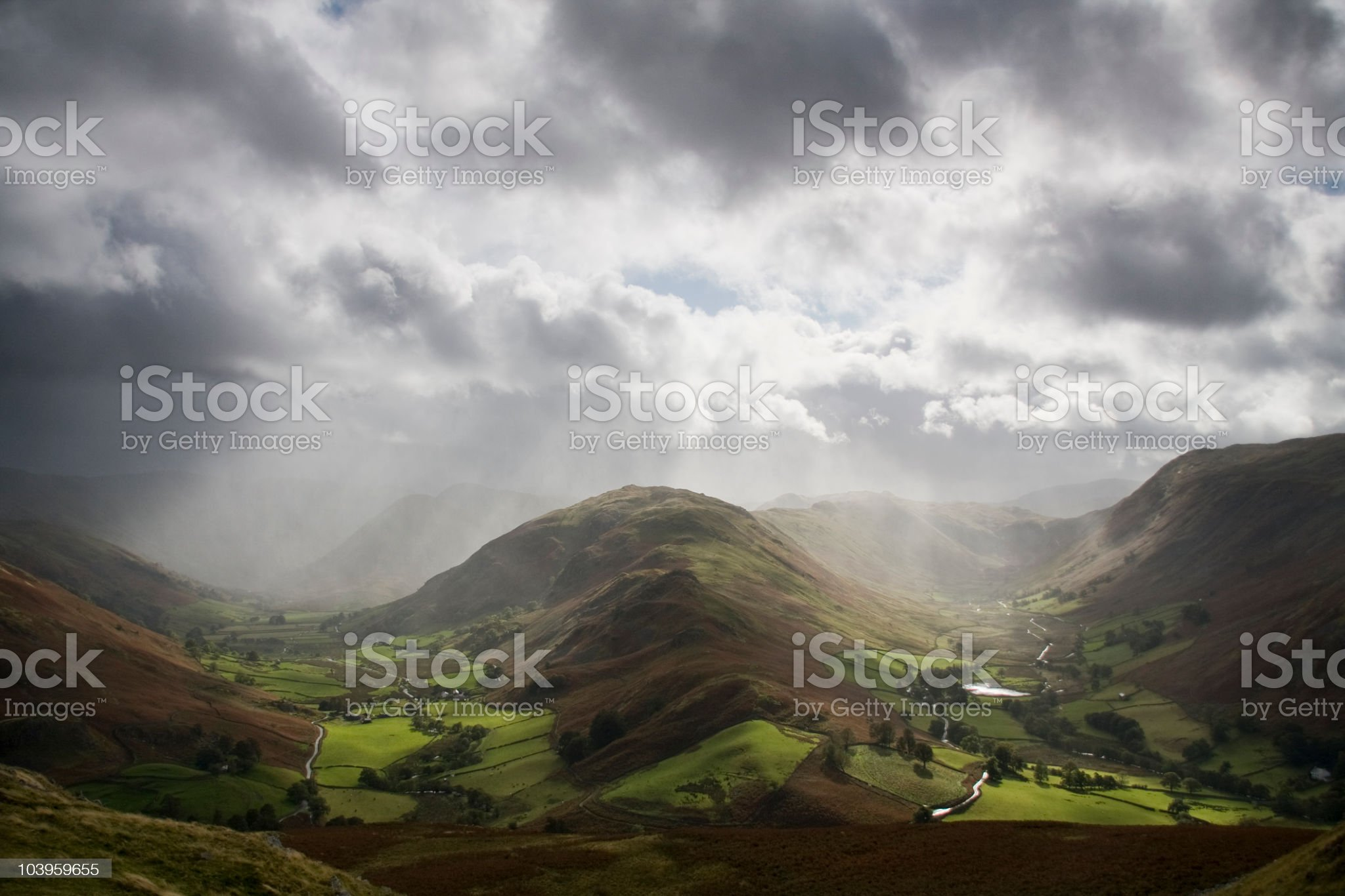 Boredale and Martindale royalty-free stock photo