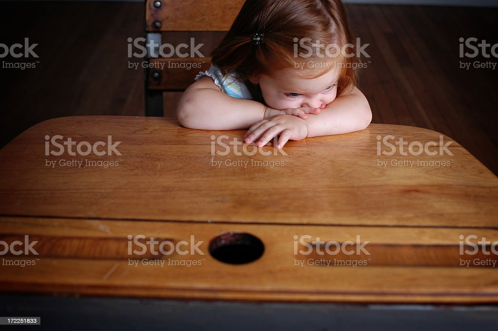 Boredom royalty-free stock photo