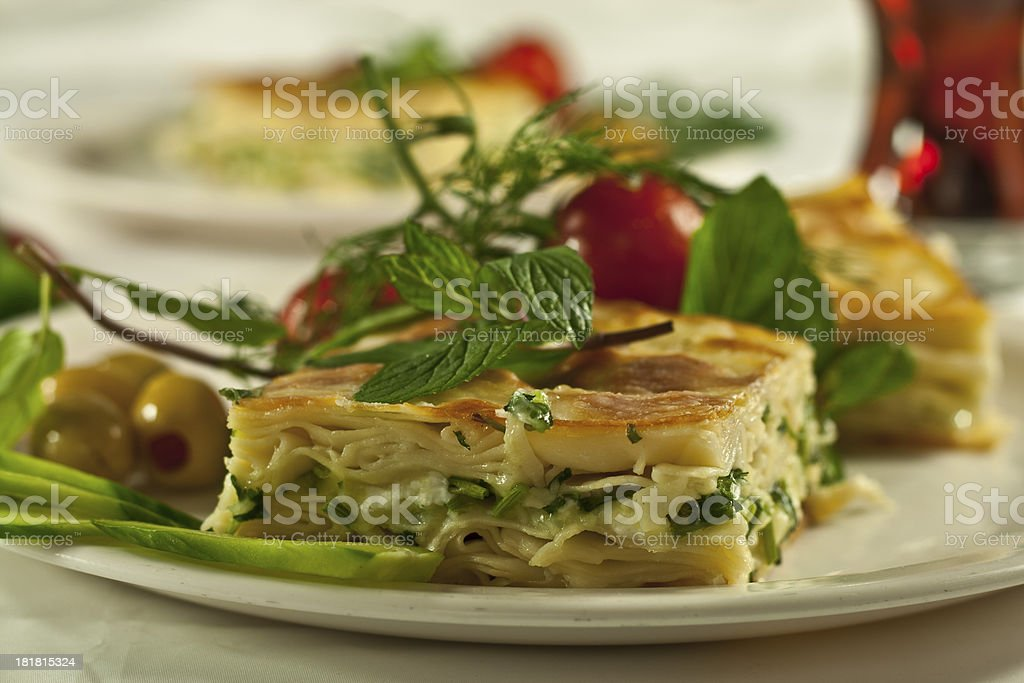 borek with cheese royalty-free stock photo