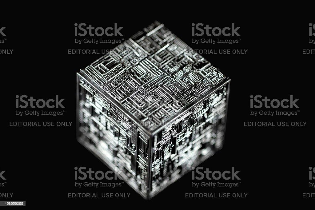 Borg Cube royalty-free stock photo