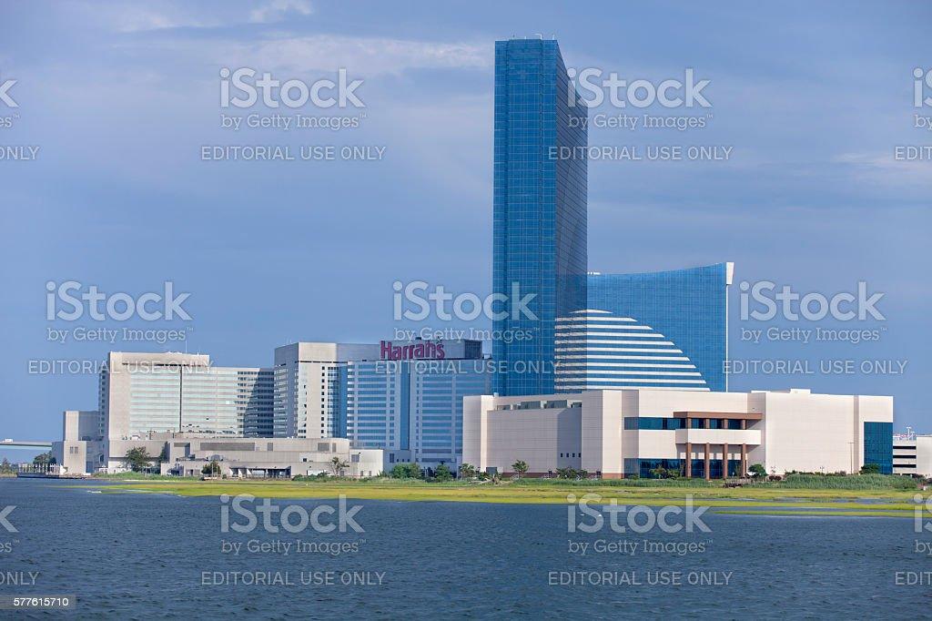 Borgata Casino with the Water Club in Atlantic City stock photo