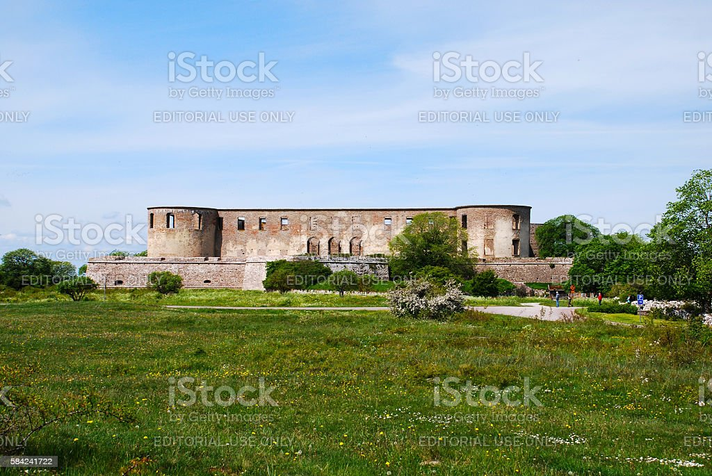 Borgholm - Sweden stock photo