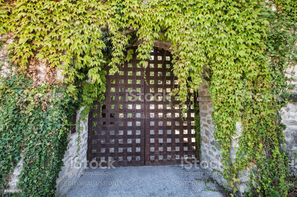 Borgo Fregnano (Romagna, Italy) stock photo